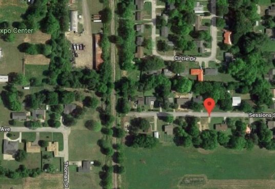 Lake Chicot Mapped- View of Lake Chicot Mapped Properties